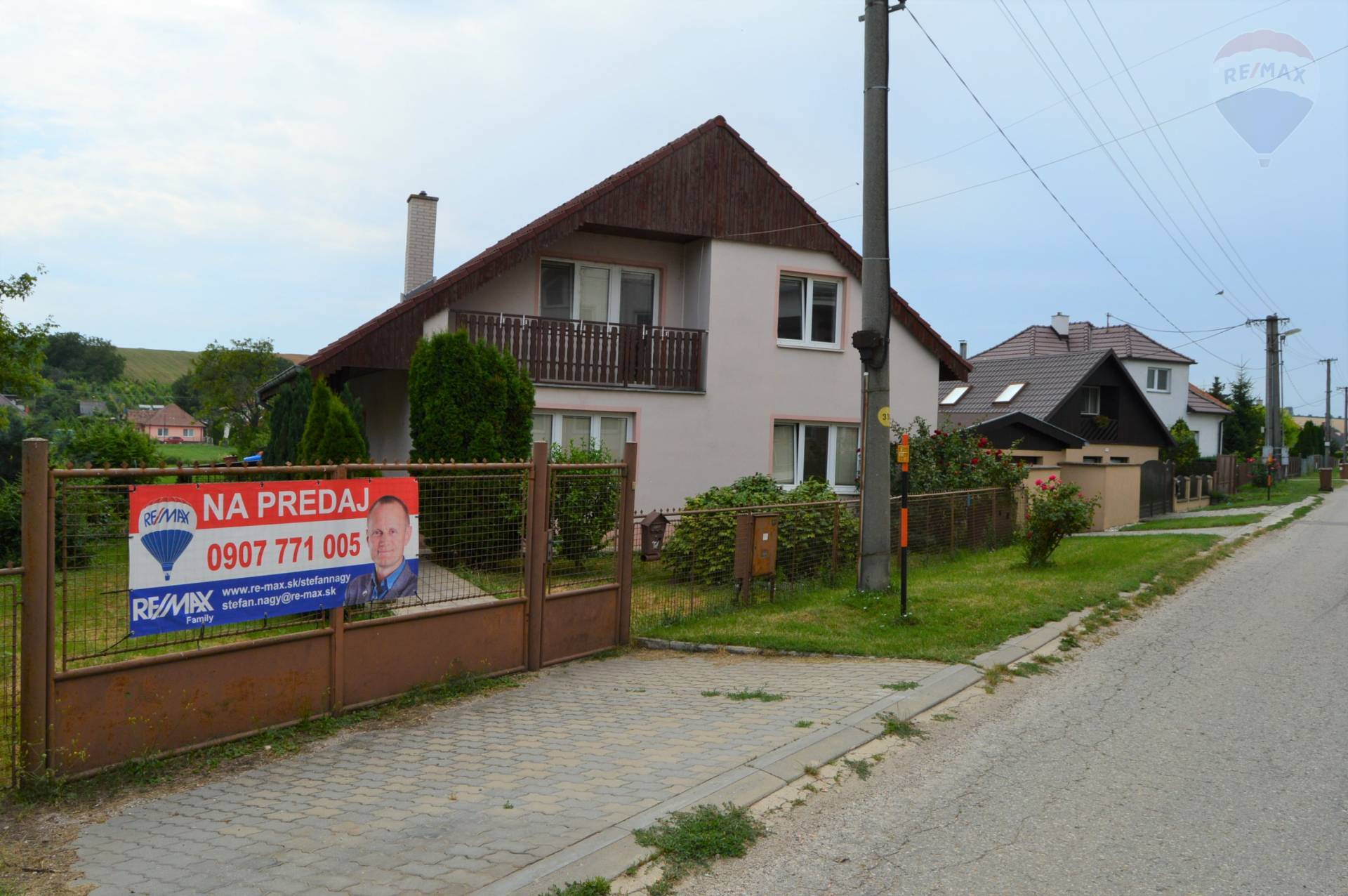 predaj rodinný dom Veľké Zálužie