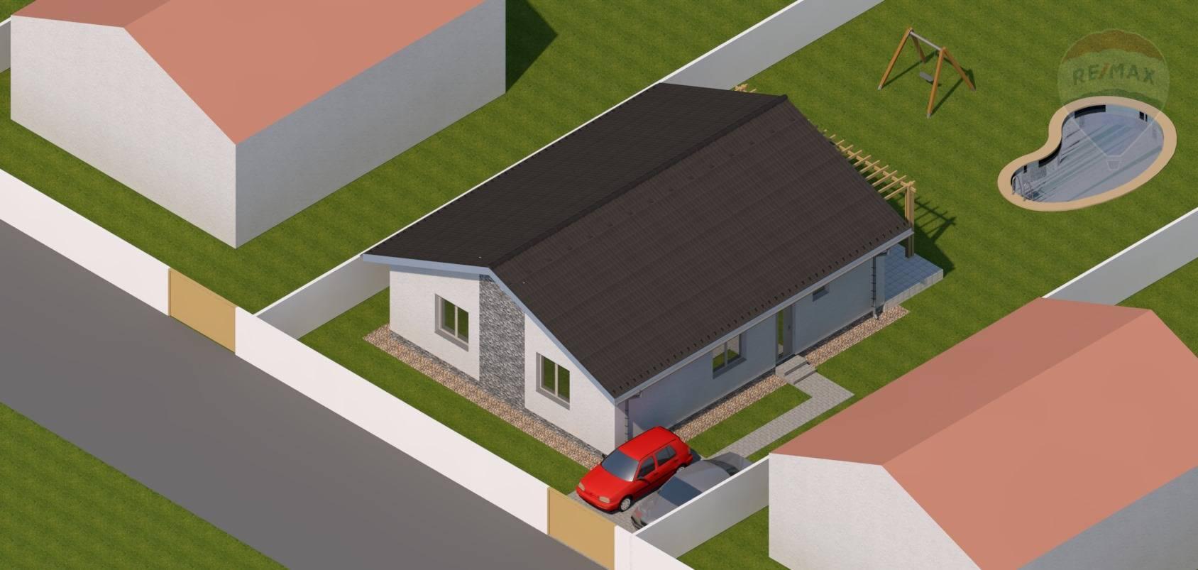 predaj rodinný dom Vráble, Vrábeľská