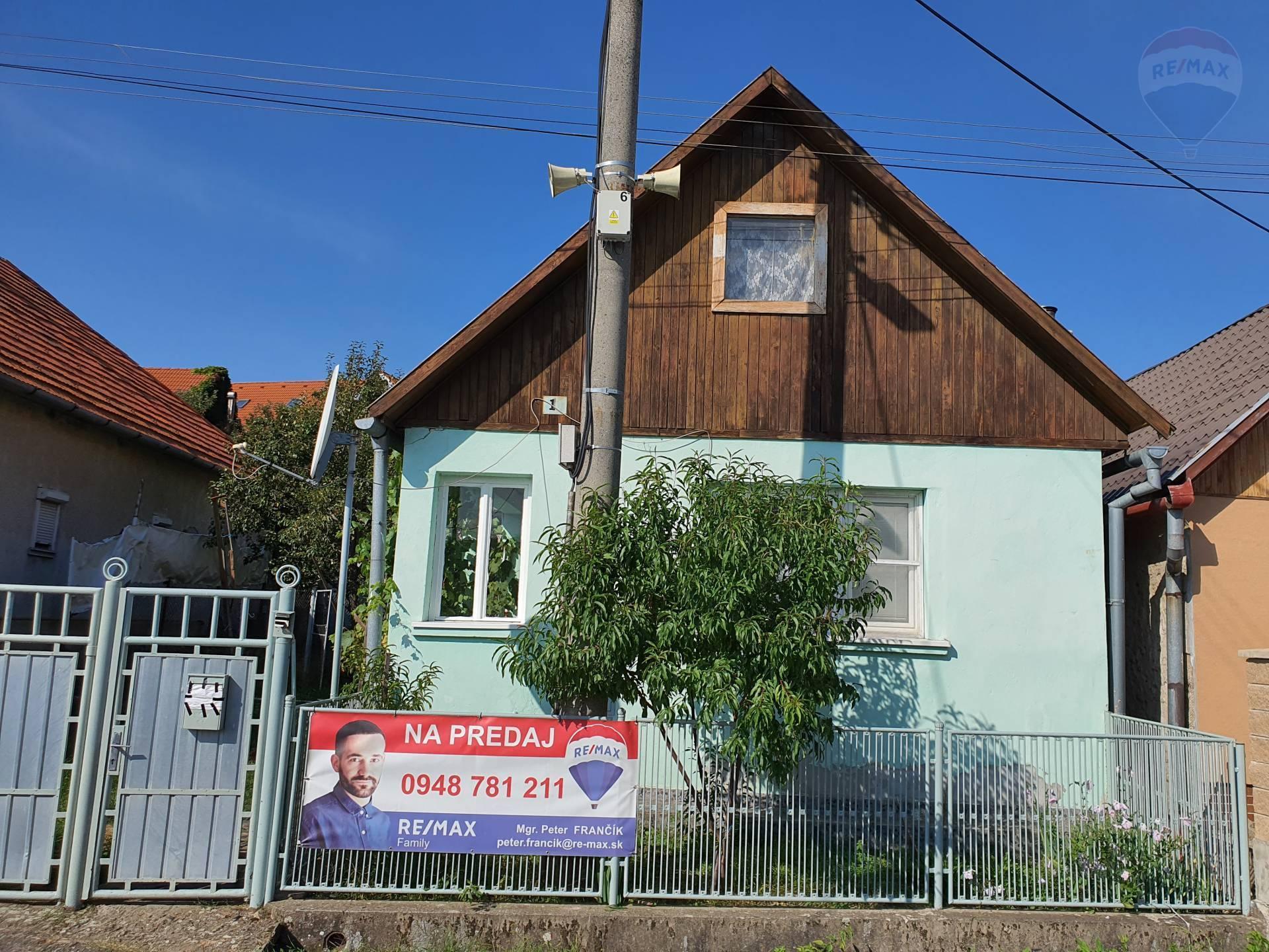 predaj rodinný dom Hontianske Tesáre
